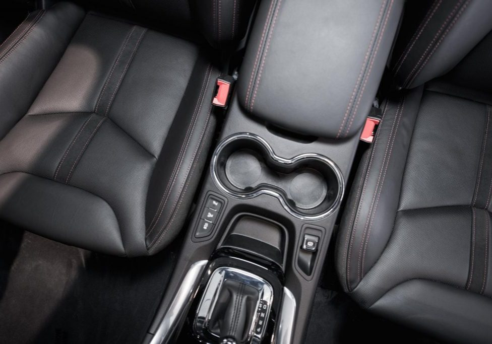 car chair with leather upholstery